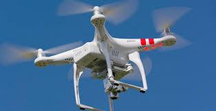 drone opnames met een quadcopter