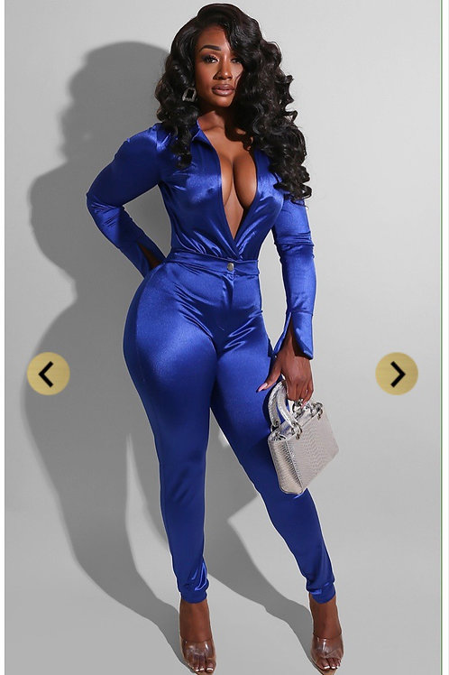 Naomi two piece set in blue