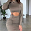 Thumbnail: Lexi ruched bodycon dress