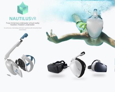Máscara acuatica VR