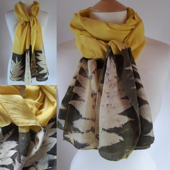 Luxury silk scarf