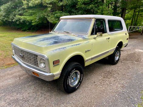 1972 K5 BLAZER (YELLOW)
