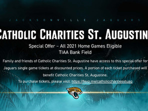 Support the Jaguars AND Catholic Charities!