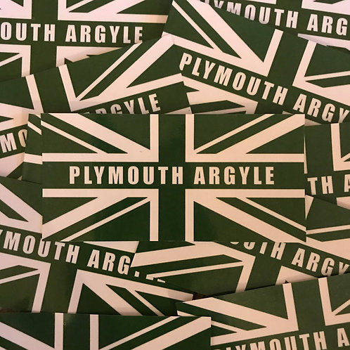 Stickers - Plymouth Argyle Inspired Union x30