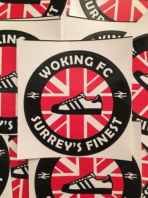 Stickers - Woking Casuals x30