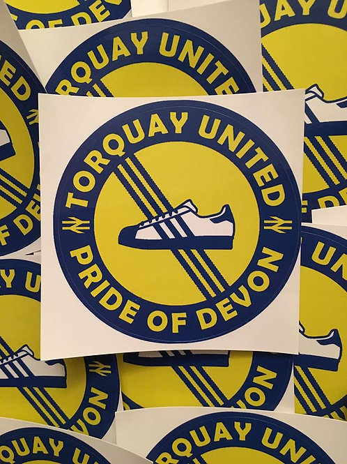 Stickers - Torquay United Casuals x30