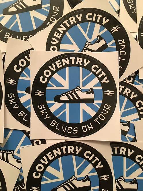 Stickers - Coventry City Casuals x30