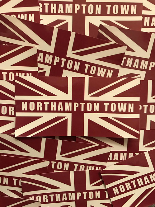 Stickers - Northampton Town Union x30