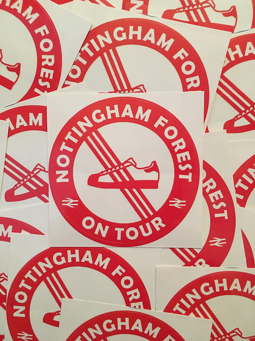 Stickers - Nottingham Forest Casuals x30