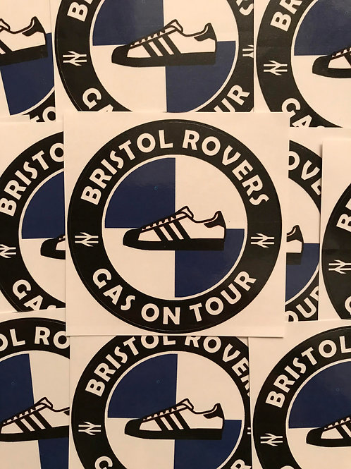 Stickers - Bristol Rovers Casuals x30