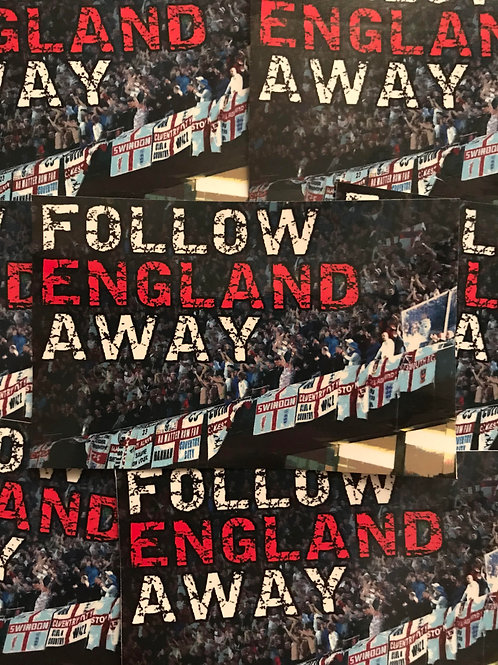 Stickers - England Away Days x30