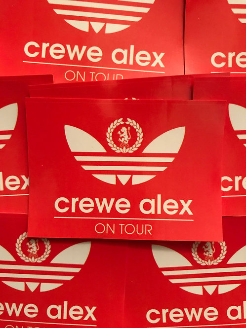 Stickers - Crewe Alexandra Originals x30