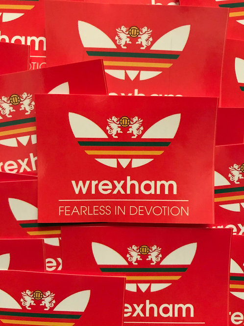 Stickers - Wrexham Originals x30