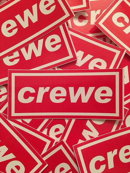 Stickers - Crewe Alexandra Oasis x30