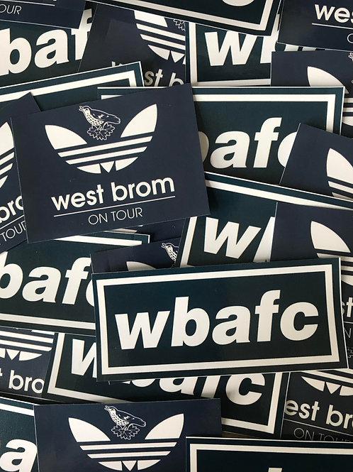 Stickers - West Brom MIX x30