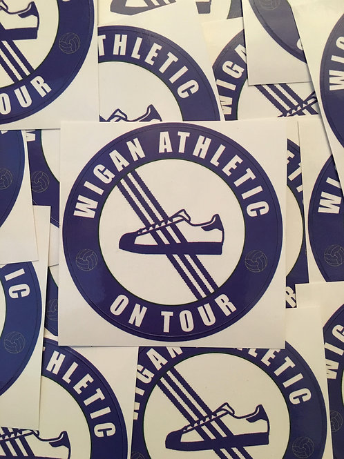 Stickers - Wigan Athletic Casuals x30
