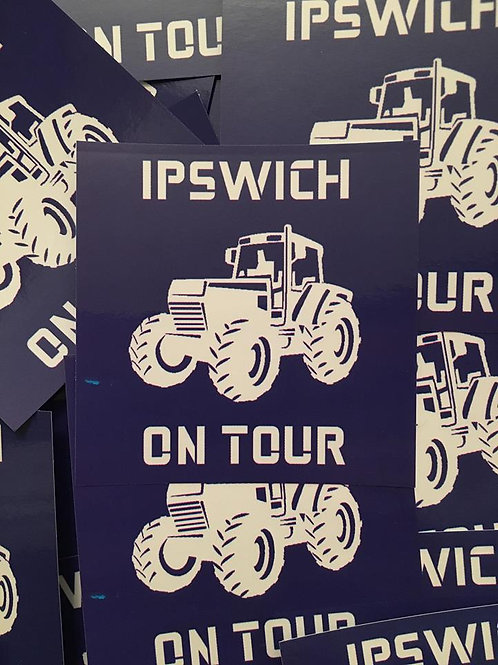 Stickers - Ipswich Town On Tour x30