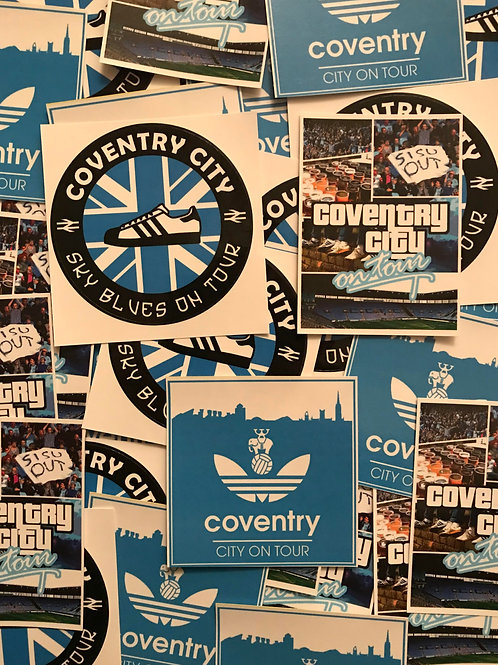 Stickers - Coventry City MIX