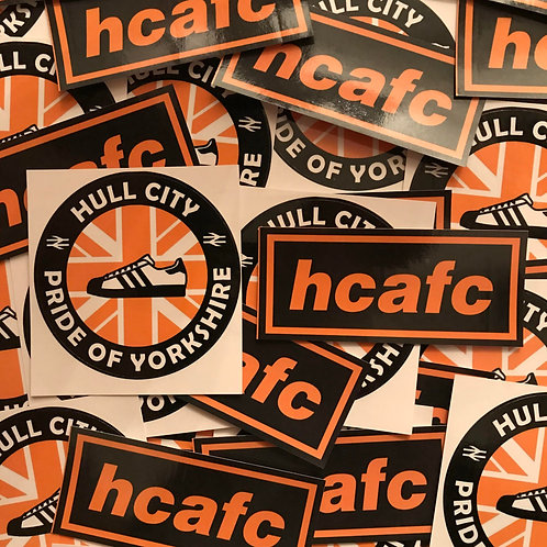 Stickers - Hull City MIX