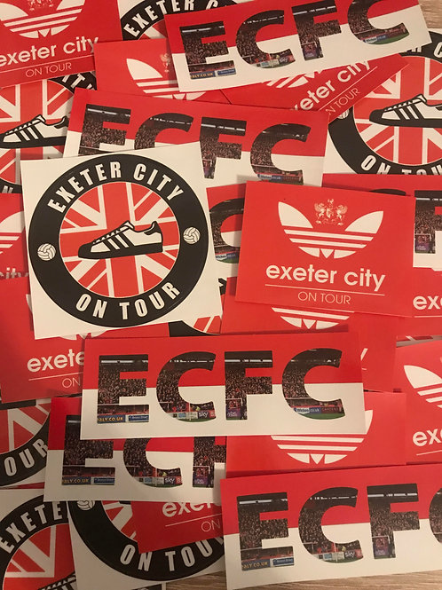 Stickers - Exeter City MIX