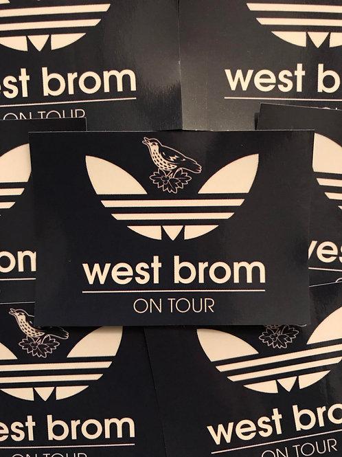 Stickers - West Brom Originals x30