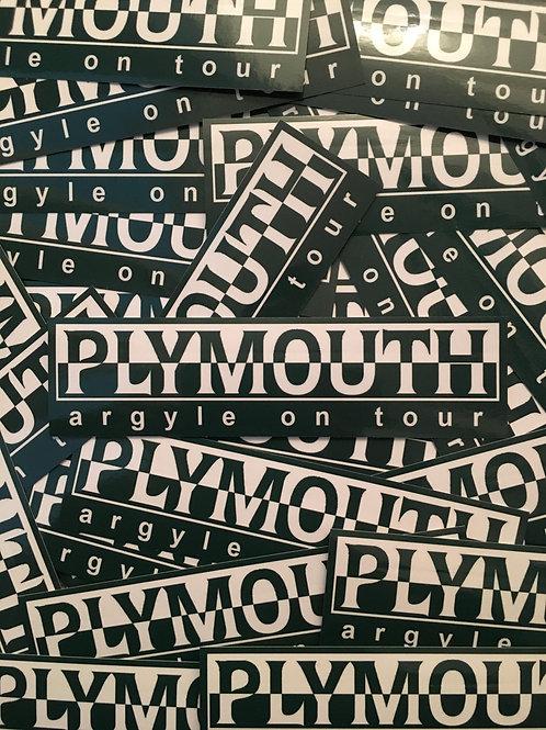 Stickers - Plymouth Argyle Inspired Napa x30