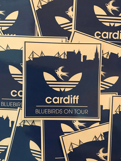 Stickers - Cardiff City ON TOUR x30