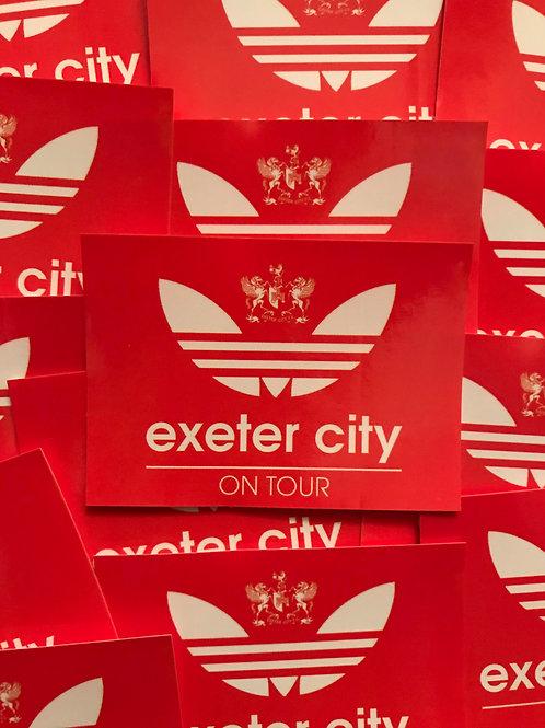 Stickers - Exeter City Originals x30