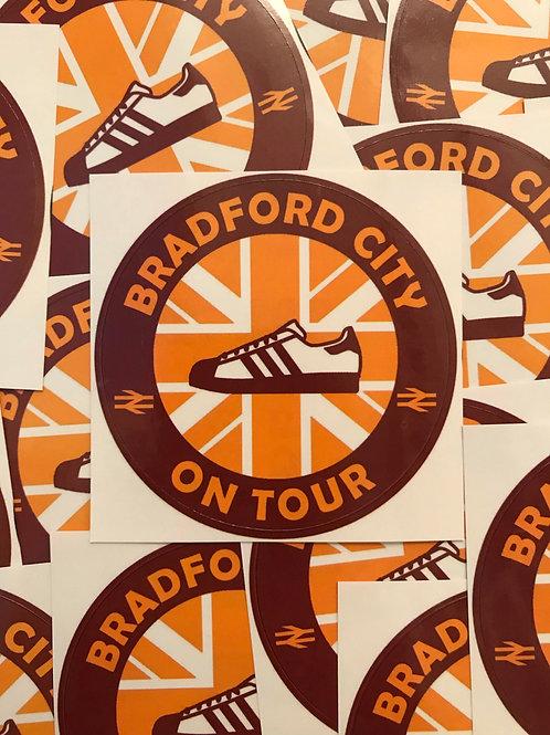 Stickers - Bradford City Casuals x30