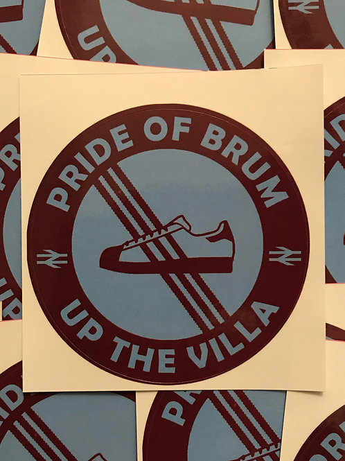 Stickers - Aston Villa Casuals x30