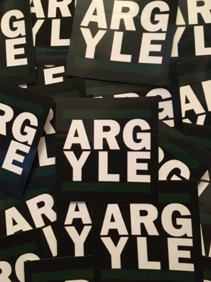 Stickers - Plymouth Argyle ARGYLE x30