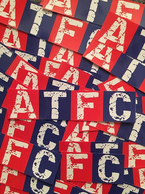 Stickers - Aldershot Town ATFC x30