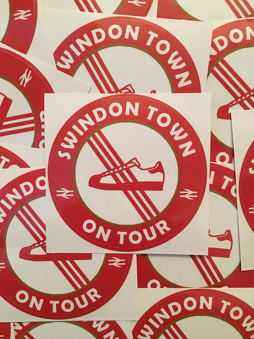 Stickers - Swindon Town Casuals x30