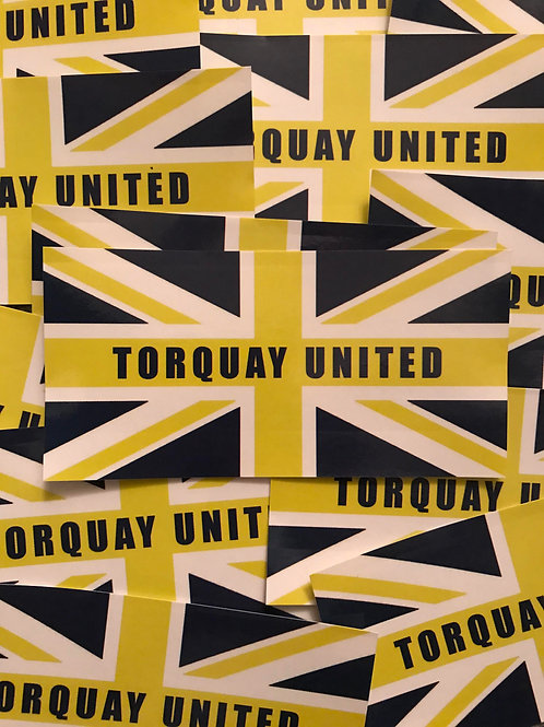 Stickers - Torquay United Union x30