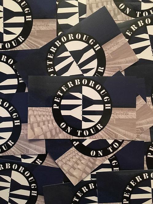 Stickers - Peterborough United Away Days x30