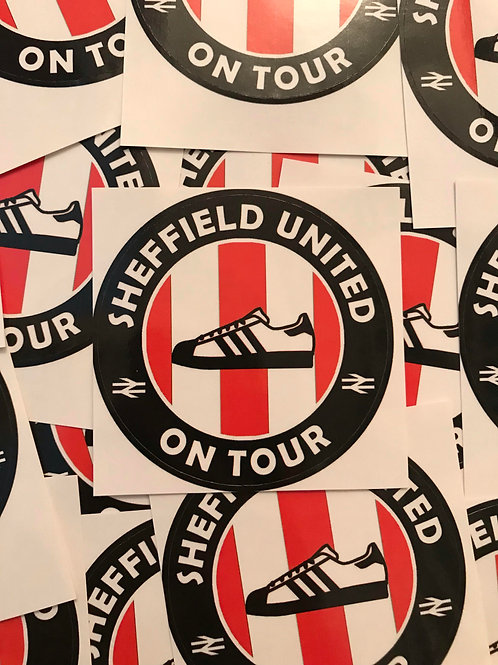 Stickers - Sheffield United Casuals x30