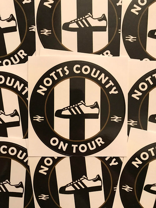Stickers - Notts County Casuals x30