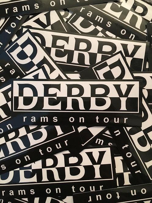 Stickers - Derby County Napa x30