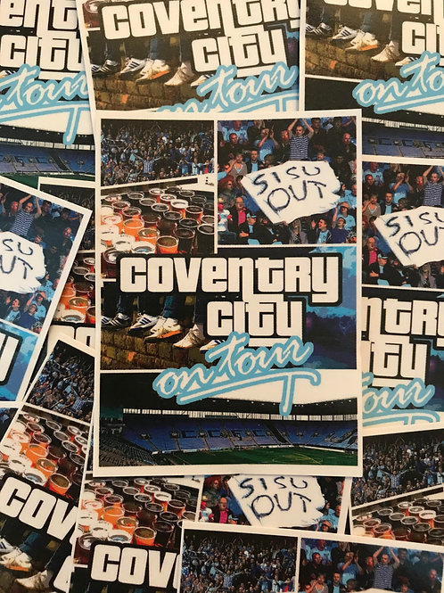 Stickers - Coventry City GTA x30