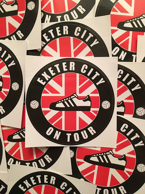 Stickers - Exeter City Casuals x30