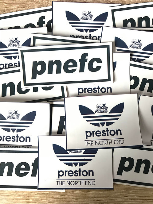 Stickers - Preston North End MIX