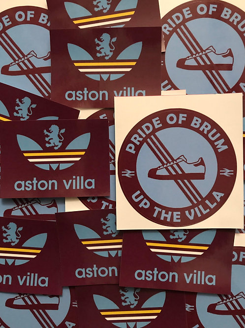 Stickers - Aston Villa MIX