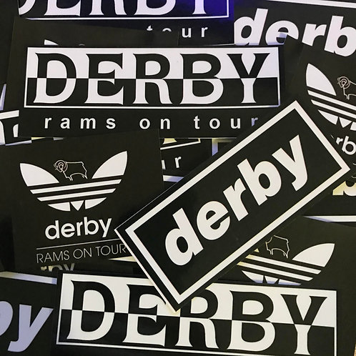 Stickers - Derby County MIX x30