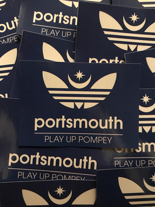 Stickers - Portsmouth Originals x30