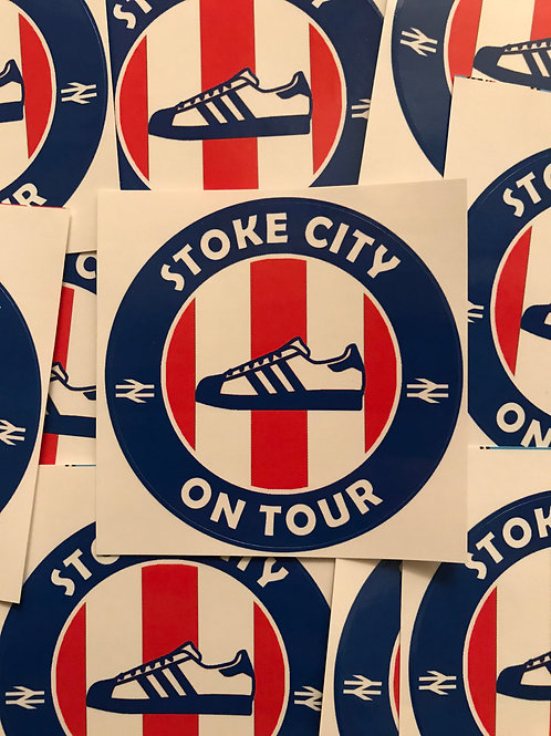 Stickers - Stoke City Casuals x30