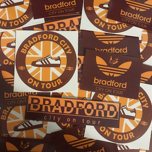 Stickers - Bradford City MIX