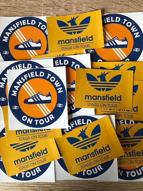 Stickers - Mansfield Town MIX