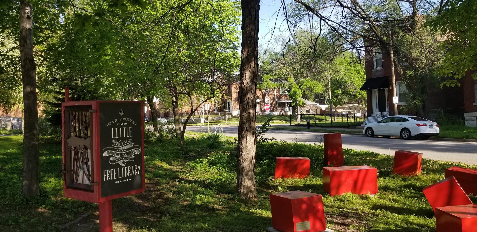 Wingmann Park Reading Garden