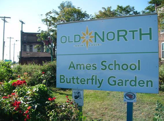 Ames School Butterfly Garden