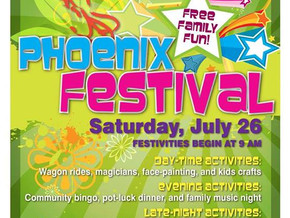 We play Phoenix Festival tomorrow (July 26) at 7:00pm